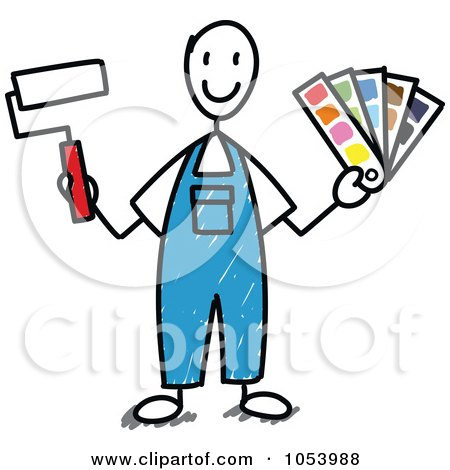450x470 Royalty Free Vector Clip Art Illustration Of A Stick Businessman