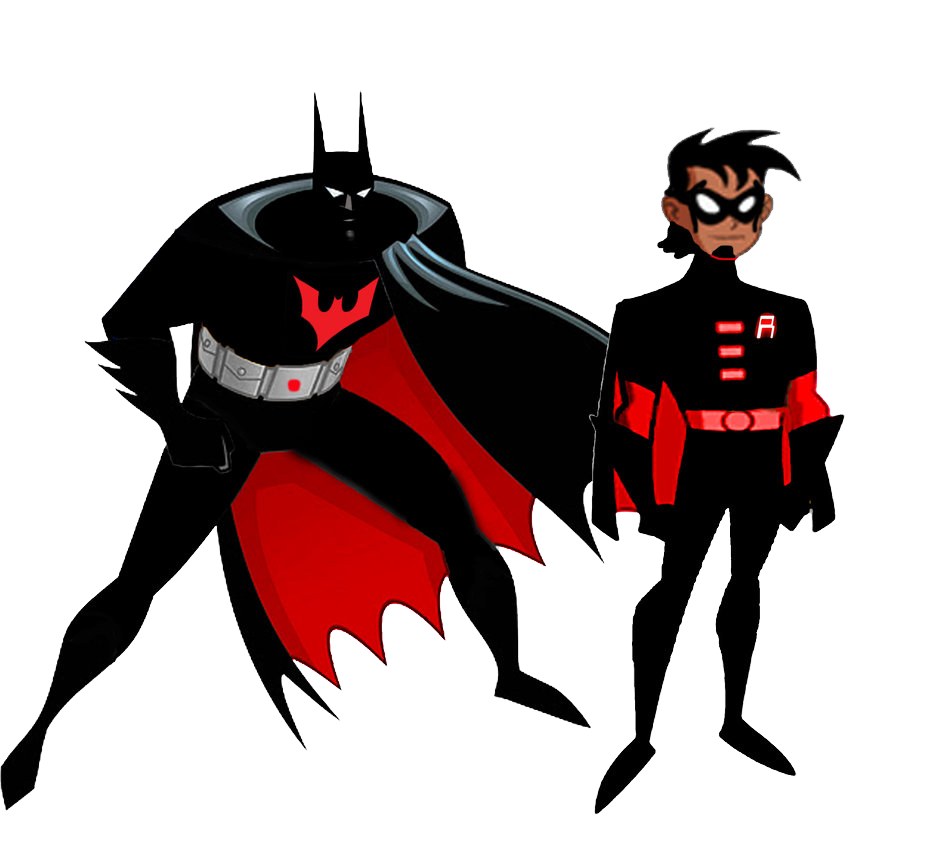 946x844 Batman And Robin Beyond By Stick Man Clip Art