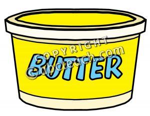 300x233 Butter Clipart