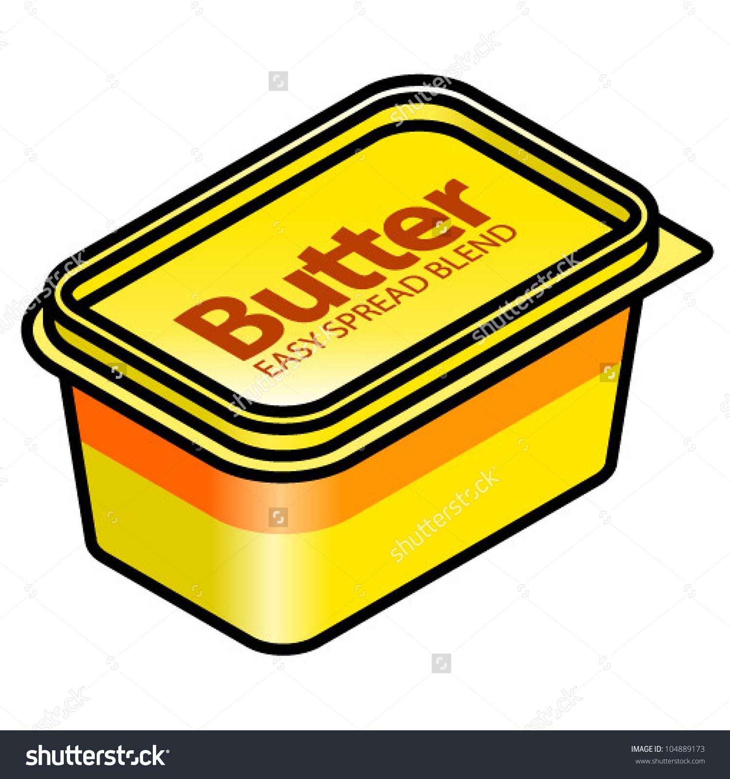 1500x1600 Butter Clipart