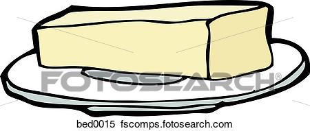 450x191 Stock Illustration Of A Stick Of Butter Bed0015