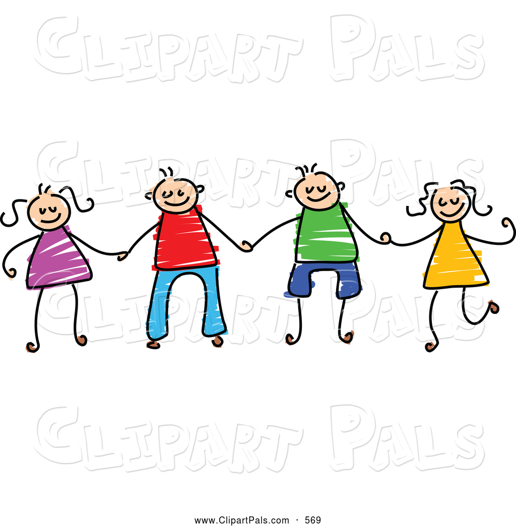 Stick People Holding Hands Clipart Free Download Best Stick People