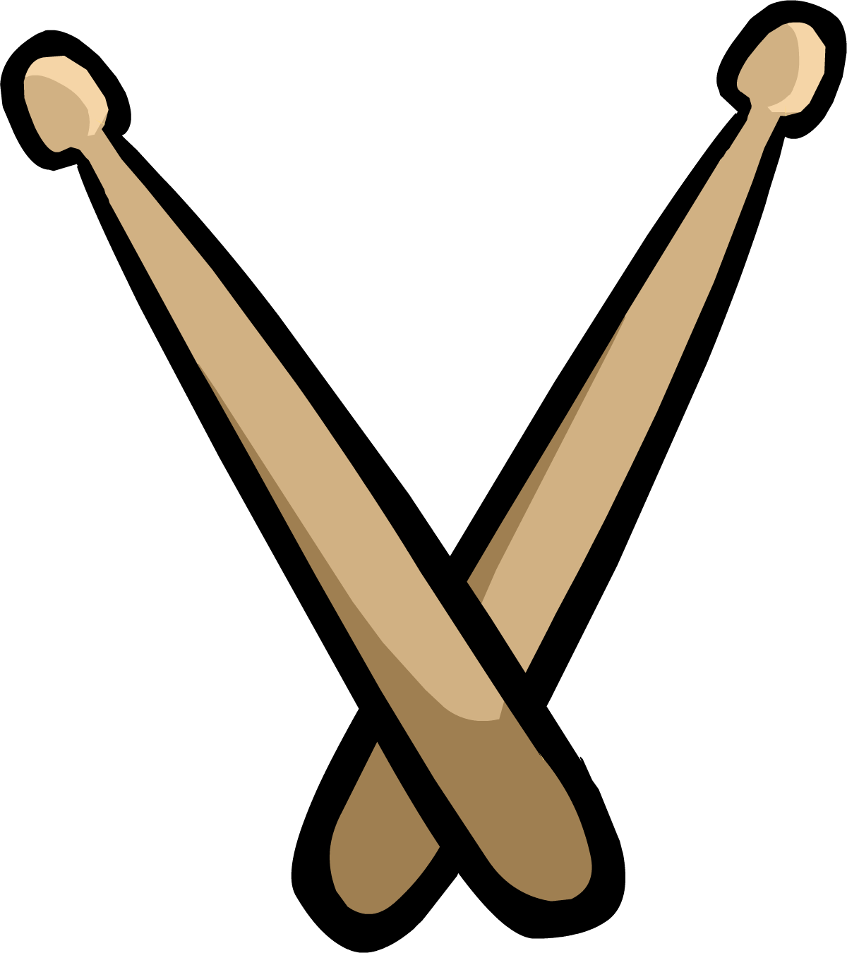 1200x1351 Musical Clipart Drumstick