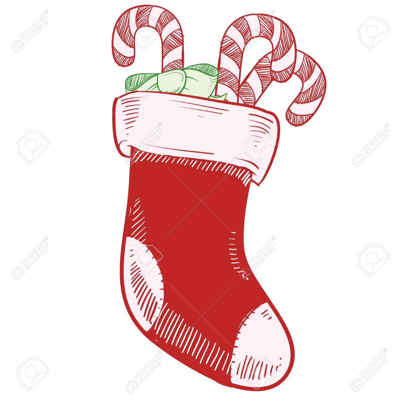 1300x1300 Candy Cane Clipart Christmas Socks