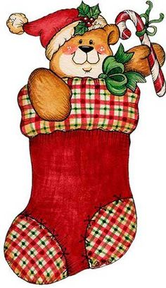 236x410 Christmas Stocking Clipart