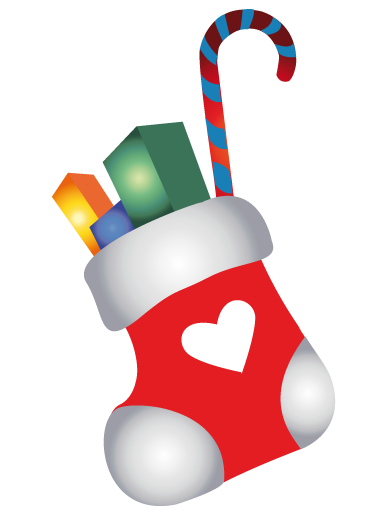 378x512 Free To Use Amp Public Domain Christmas Stocking Clip Art
