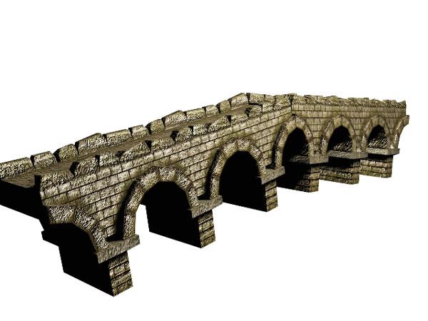 600x450 Bridge Clipart Stone Bridge