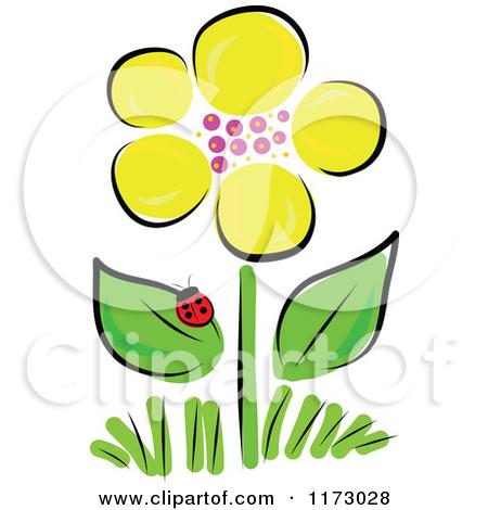 450x470 Ladybug On A Daisy Clip Art Cliparts