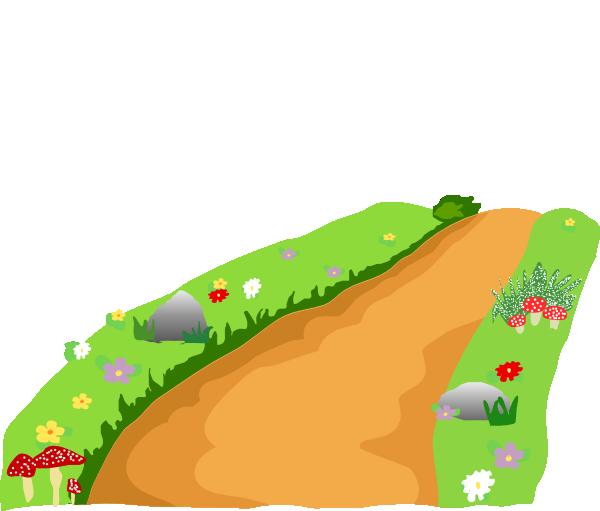 600x511 Path Clip Art