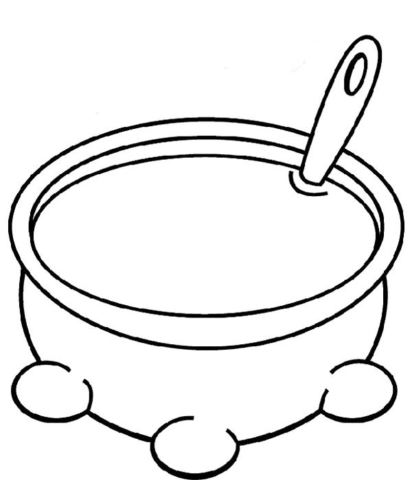 600x700 Stew Clipart Stone Soup
