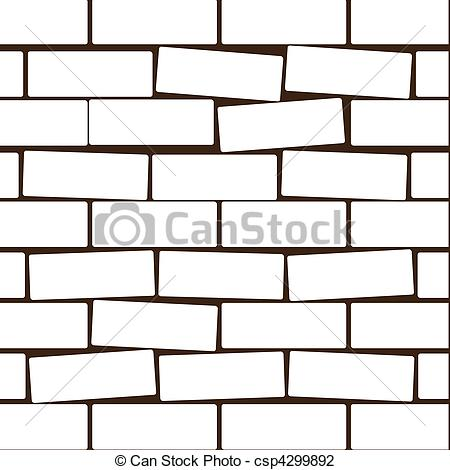 450x470 Stone Wall Clipart Brick House