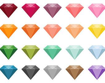 340x270 Semi Precious Stones Clipart