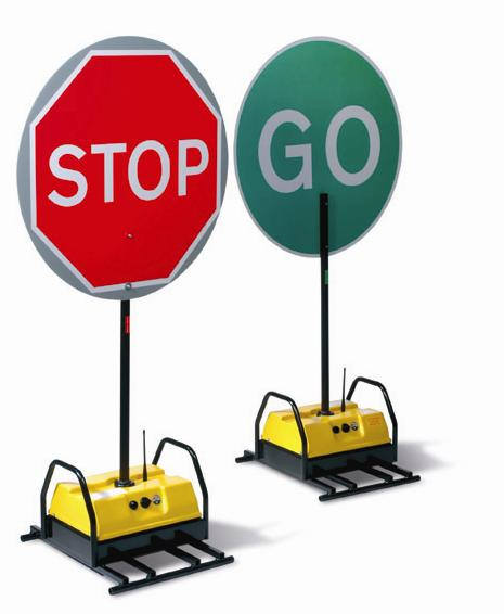 465x566 Stop Go Board Automatic Road Signs Speedy Services