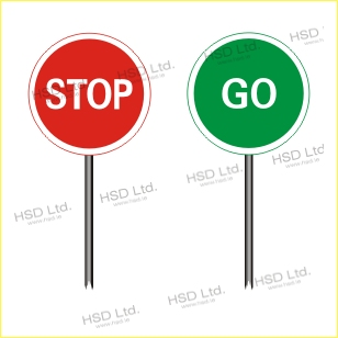 308x308 Stop Amp Go Hsd Signs And Safety