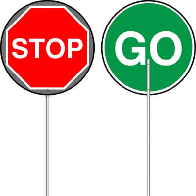 400x400 Traffic Management Glendining Signs