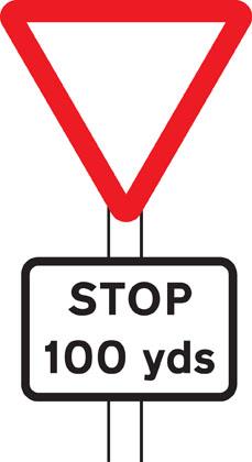 229x420 Traffic Signs