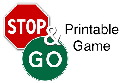 400x267 Mommy Taught Preschool Free Stop And Go Game Printable