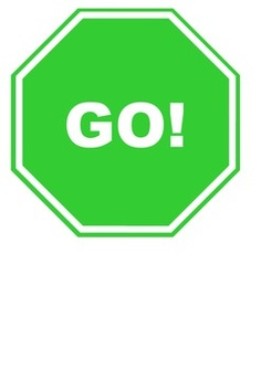 236x334 Stop And Go Signs Clipart
