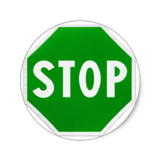 324x324 Stop And Go Stickers Zazzle