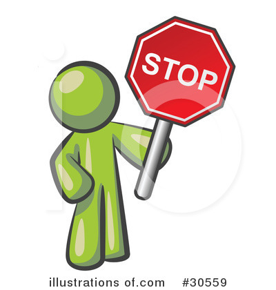 400x420 Stop Sign Clipart