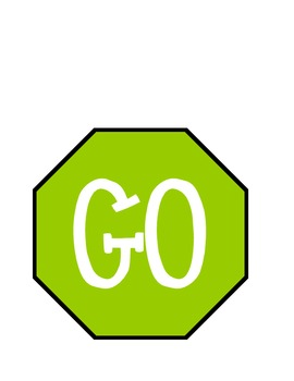 270x350 Stop And Go Sign For The Bathroom By Sara Cooper Tpt
