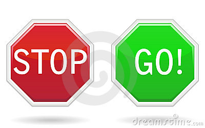 400x250 Stop Go Sign Clipart