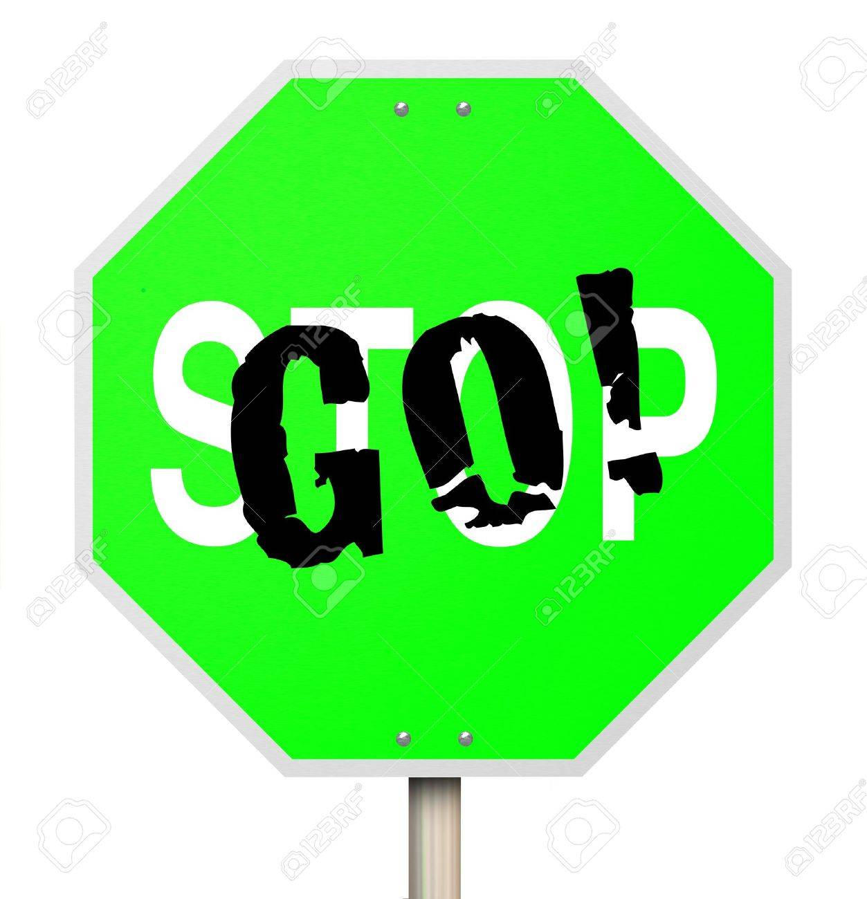 1253x1300 A Stop Sign That Has Been Transformed With Graffiti To Read Go