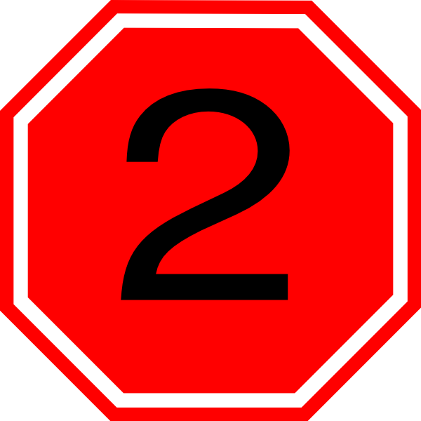 600x600 Stop Sign Clip Art