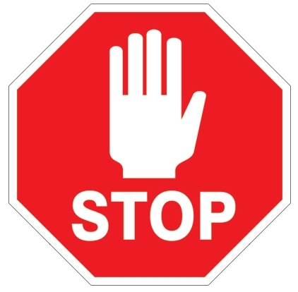 422x414 Stop Clipart Safety Sign