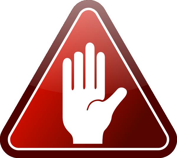 600x536 Stop Sign Clip Art