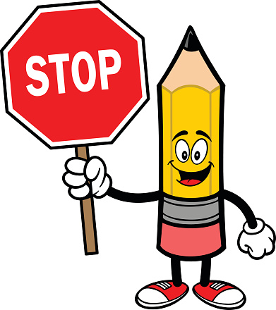 391x440 Stop Sign Clipart