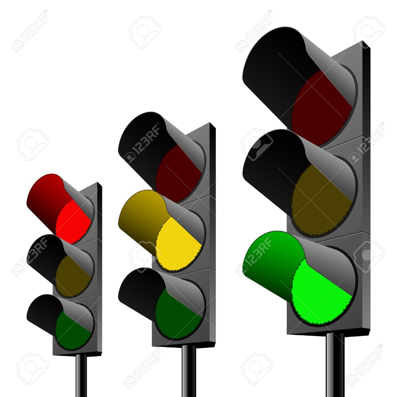 1300x1300 Traffic Light Clipart Semaphore