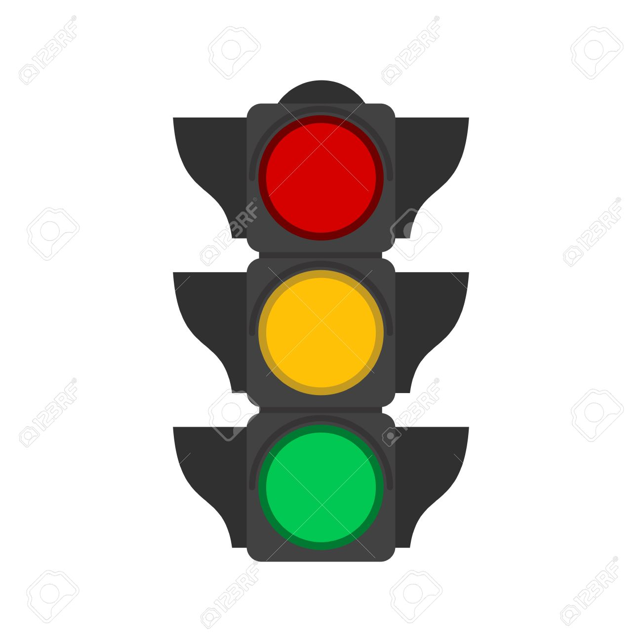 1300x1300 Traffic Light Signal Clipart