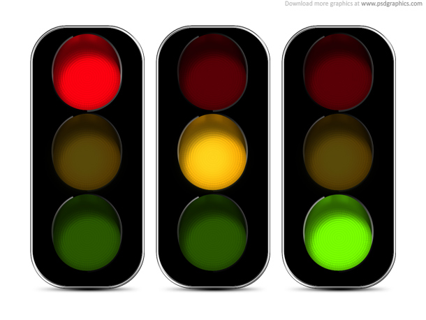 610x458 Powerpoint Traffic Light Animated Traffic Light Powerpoint Slide