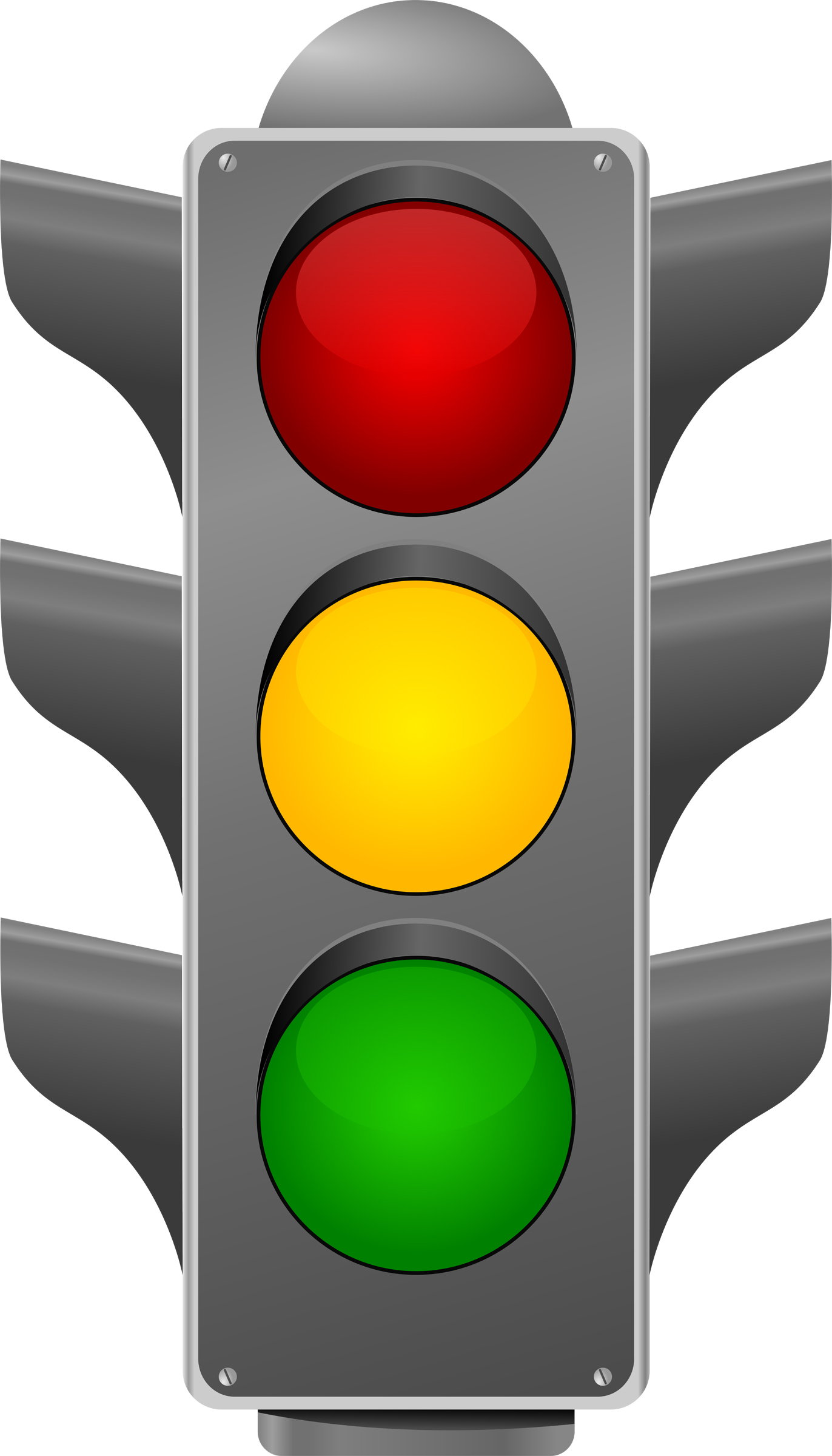 1372x2400 Traffic Lights Royalty Free Vector Clip Art Illustration Vc001363