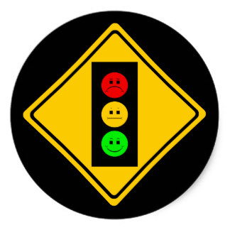 324x324 Stop Light Stickers Zazzle