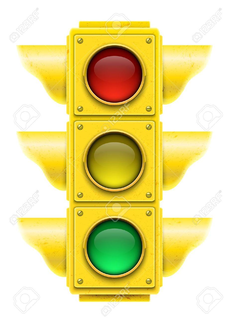 920x1300 Stoplight Clipart