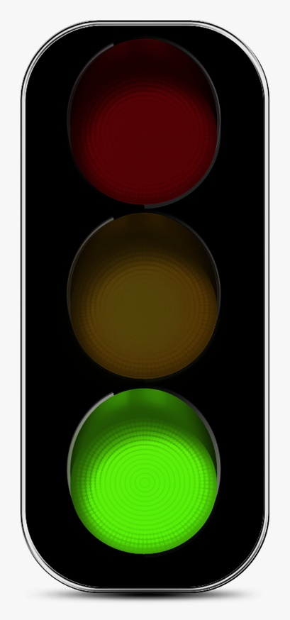 409x874 Stoplight Green Traffic Light Clipart Kid 2
