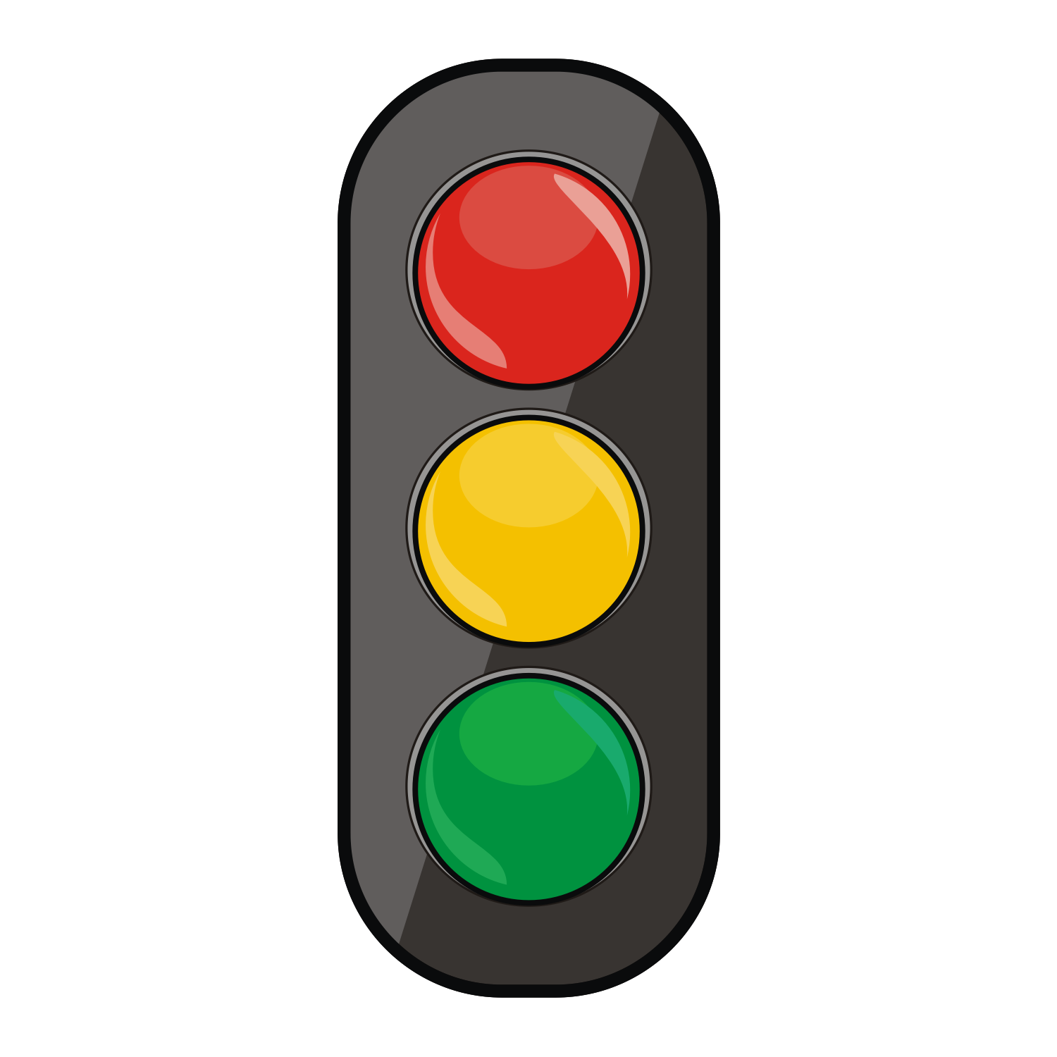 1500x1500 Stoplight Stop Light Traffic Free Vector Clipart Image