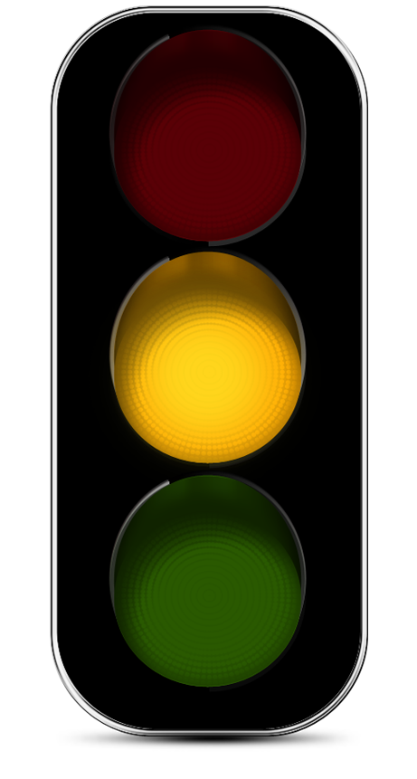 461x861 Traffic Light Clipart Yellow