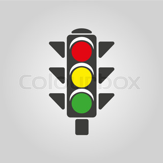 320x320 Traffic Light Stock Vector Colourbox