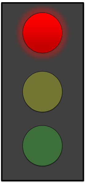 276x590 Red Stoplight Clip Art