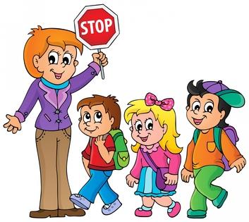 353x315 Clipart Walkers From School