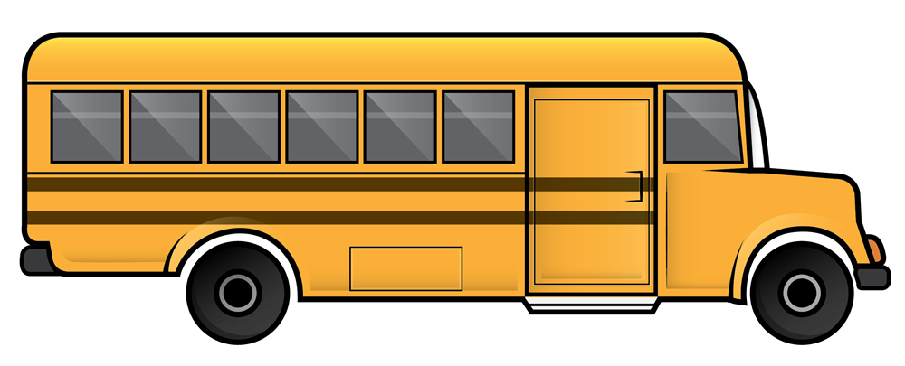 1000x405 School Busfree Clipart