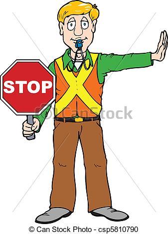 337x470 Stop Clipart School Guard