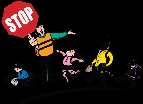 548x399 Stop Clipart School Guard