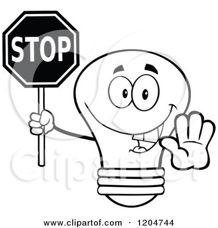 450x470 Stop Sign Clip Art Black And White