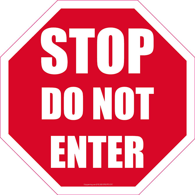670x670 Stop Clipart Do Not