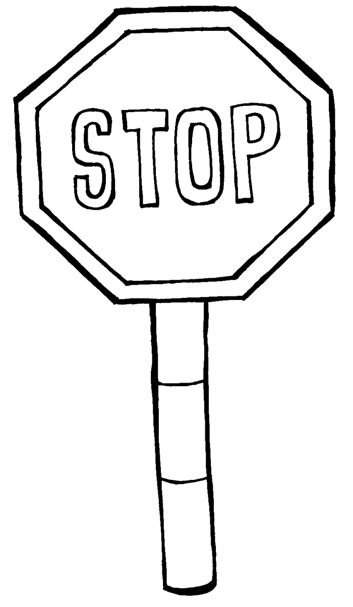 700x1204 Stop Sign Coloring Page Canada Captures Classy