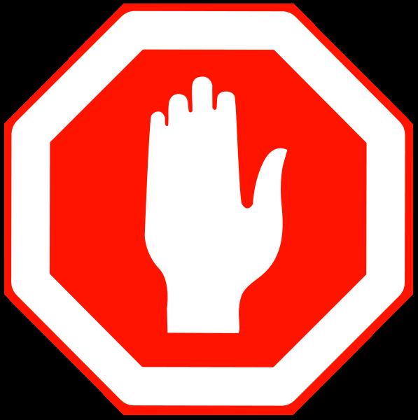 597x600 Free Stop Sign Clip Art Clipartfest